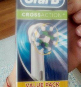 Насадки на электрическую зубную щетку