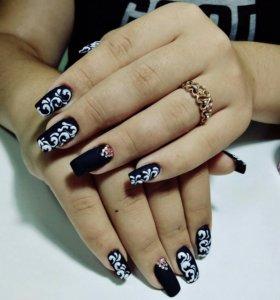 Наращивание ногтей♠
