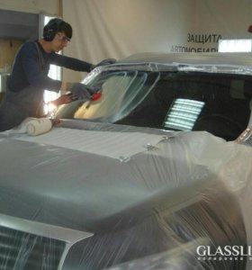 Полировка стекл и машин