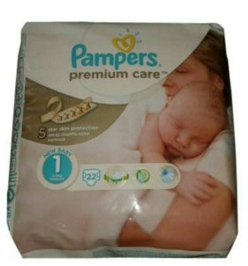 Подгузники Pampers Premium care 1