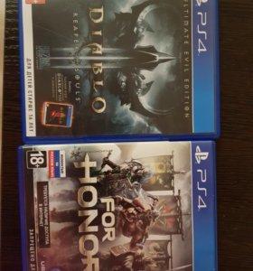 For honor и Diablo 3