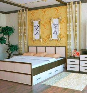 """Спальня """"Сакура"""" Комп.5"""