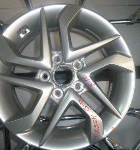 Диск колесный легкосплавный Hyundai Tucson 2015>