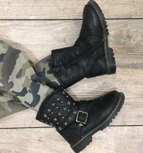 Ботинки (осень)утепленные