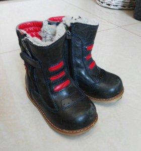 Турецкие зимние ботинки