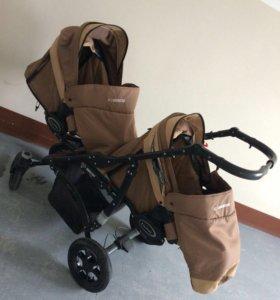 Детская коляска для двойни или полугодок