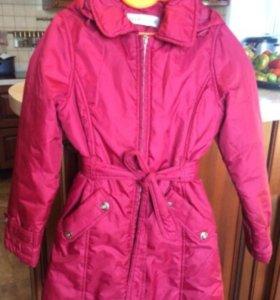 Осеннее пальто на девочку
