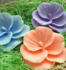 Силиконовая форма для мыла  цветок