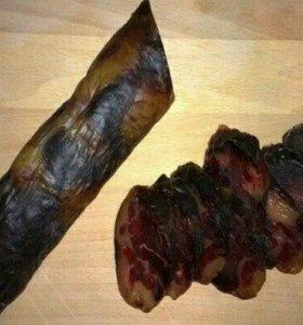 Конская колбаса казы