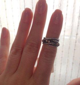 Pandora кольцо с бриллиантами