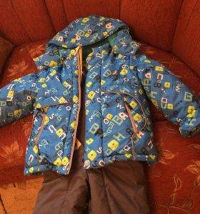 Зимний комбинезон для мальчика размер 98