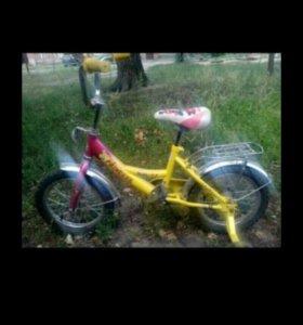 Велосипед детский принцесса