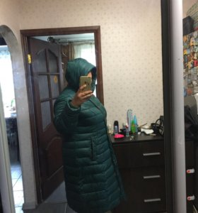 Зимнее пальто 58-60р