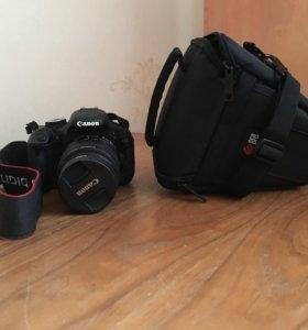Фотоаппарат canon eos600d 18-55mm