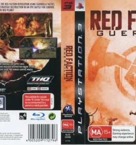 Игра Red Faction: Guerilla (PS3)