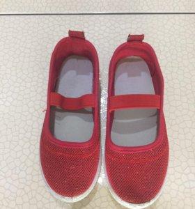 Туфли для девочки р 29