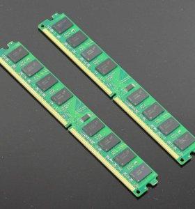 Память 2GB, DDR2, 667MHz