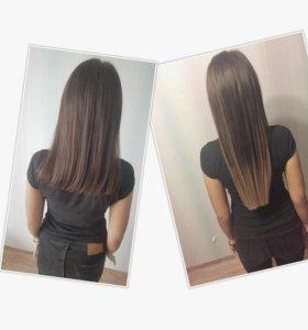 Наращивание волос. СОСНОВОБОРСК