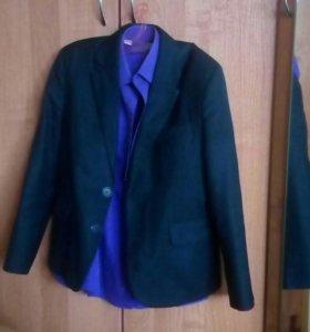 Пиджак+рубашка за шоколадку)