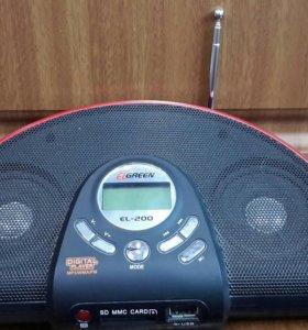 Мп3 проигрыватель с флешки плюс радио