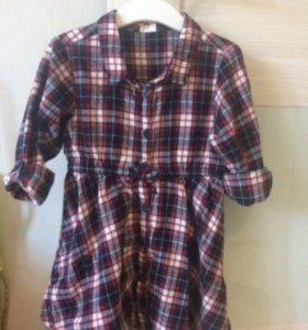 Платье из hm размер 92