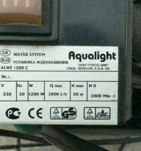 Установка водоснабжения Aqualight ALWS 1200C