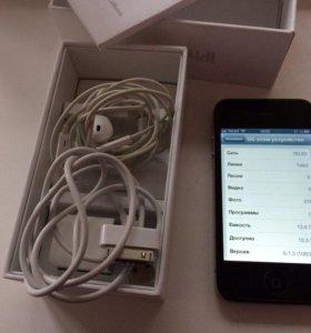 Айфон 4s 16гб на ios 6