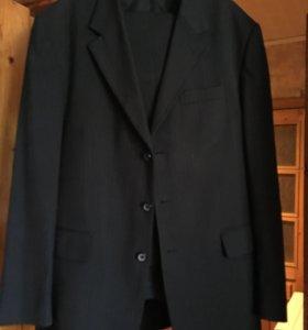 Костюм мужской темно-синий с брюками р.52, 176см