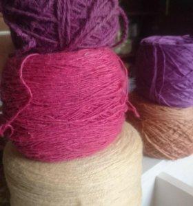 Нитки для вязания, пряжа