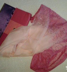 клатч+шарф