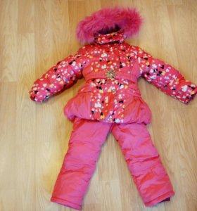 Новый Комплект- куртка и полукомбинезон.