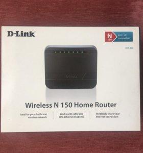 Маршрутизатор D-Link Dir-300