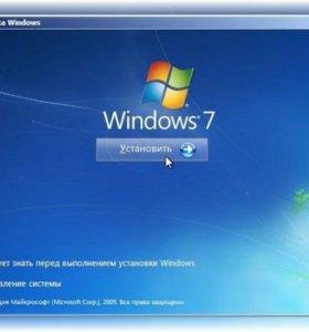 Установка Windows, установка драйверов.