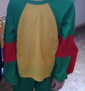 Новогодний костюм ниндзя-черепашка
