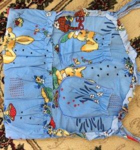 Подвеска для игрушек на кроватку либо стену мягкая