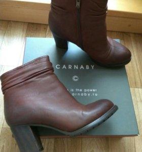 Ботинки коженные зимние новые