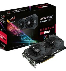 Видеокарта Asus Strix RX 470 4g OC