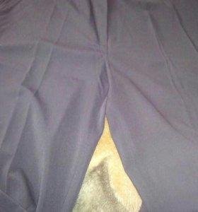 Брюки черные, 50 размер