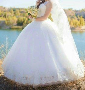 Продаётся свадебное платье - трансформер