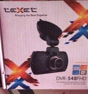 Новый видеорегистратор Texet DVR-548FHD