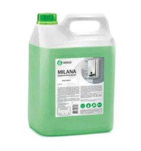 """Жидкое крем-мыло """"Milana"""" алоэ вера 5 кг"""
