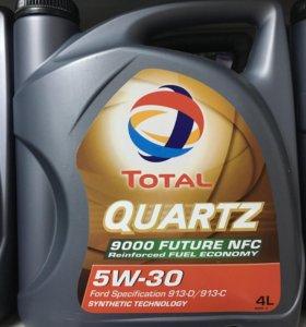 Total Quartz 9000 5w30 4л
