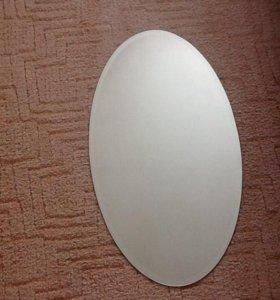 Овальное зеркало новое IKEA