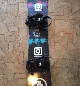Сноуборд K2 140 комплект