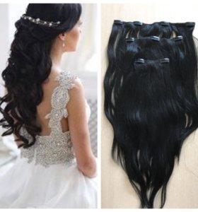 Волосы натуральные 55 см