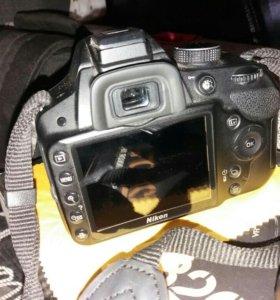 Nikon D3200 Зеркальный фотоаппарат