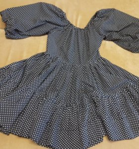 Платье в горошек 42-44
