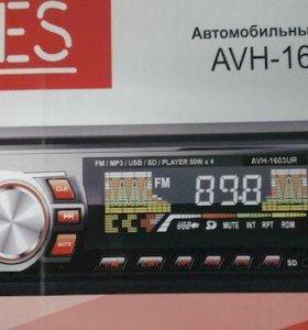 ACES Проигрыватель AVH-1603UR MP3, USB, SD, AUX