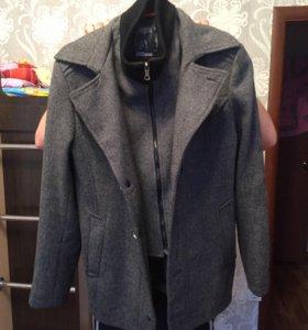 Мужское укороченное пальто