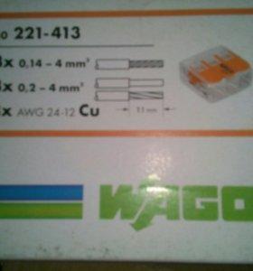 Клемник WAGO 222-413